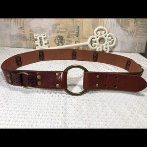 Fossil Notch Buckle Leather Belt